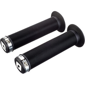 ODI Longneck Lock-On Poignées BMX Bonus Pack, black/silver